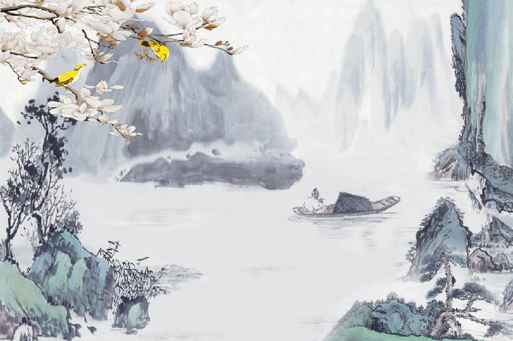 蒲公英手绘彩画